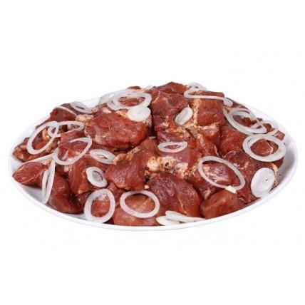 Маринованное мясо свиная шея 1 кг